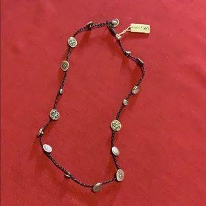 Uno de 50 Braided Braided Button Necklace 🌹NWT